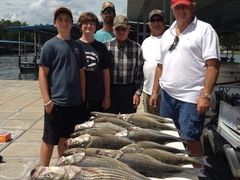 Large fish CSRA fishing Little River Guide Service Clarks Hill Lake GA Lake Strom Thurmond SC