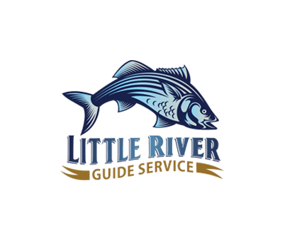 Logo Little River Guide Service fishing charters and events Clarks Hill Lake GA Lake Strom Thurmond SC